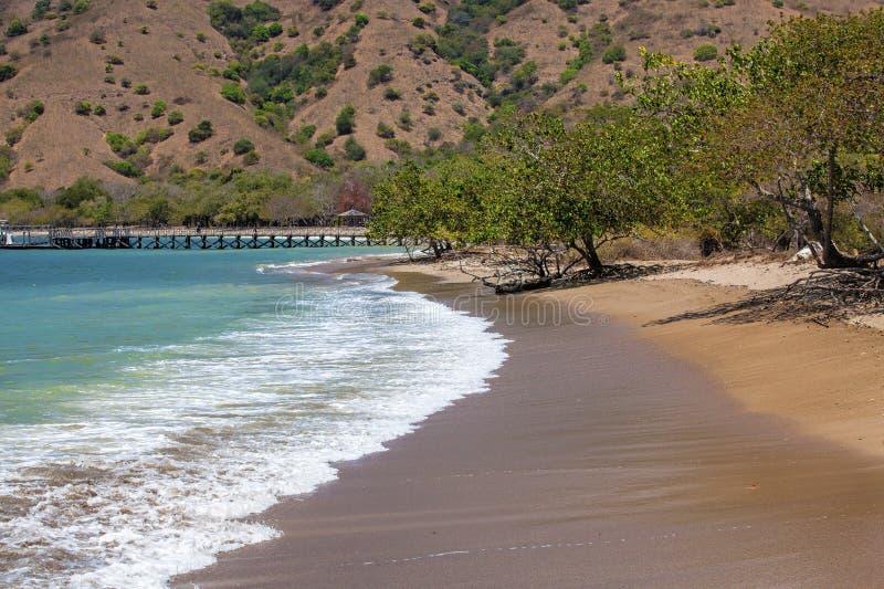 Isola di Komodo fotografie stock