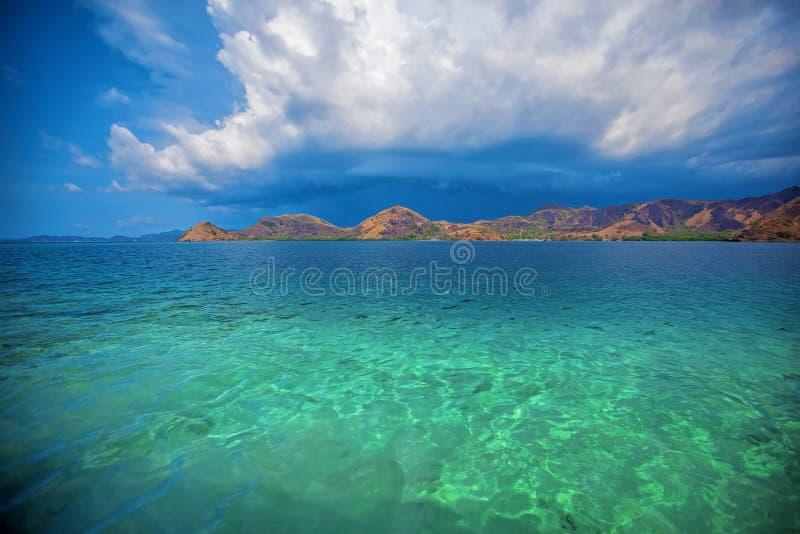 Isola di Komodo fotografia stock libera da diritti
