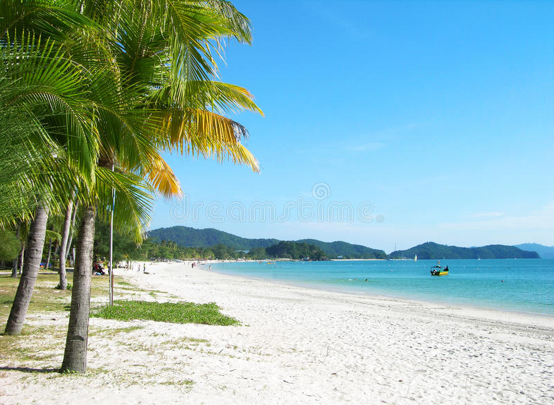 Isola di Langkawi fotografia stock libera da diritti