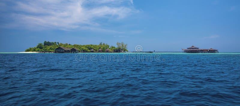 Isola di Lankayan immagine stock