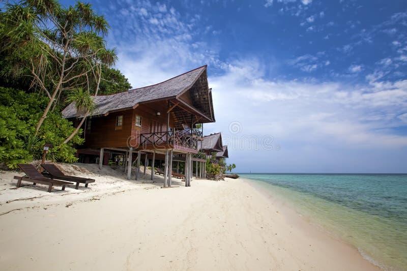 Isola di Lankayan fotografia stock