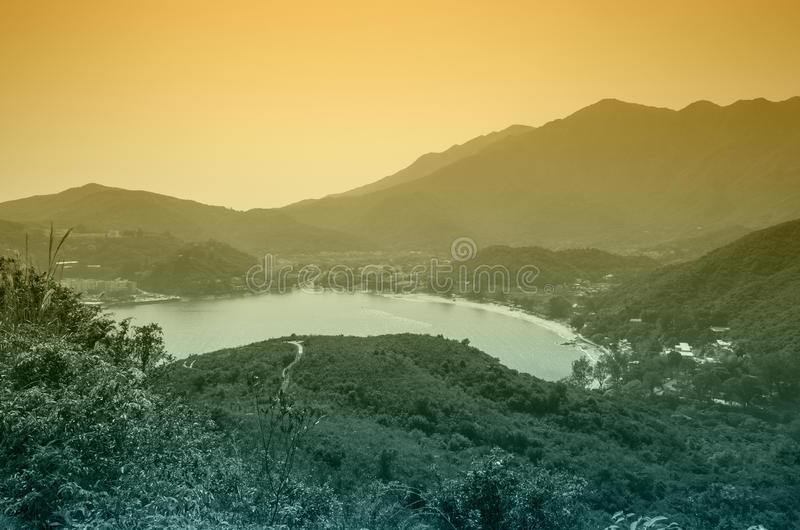 Isola di Lantau fotografia stock