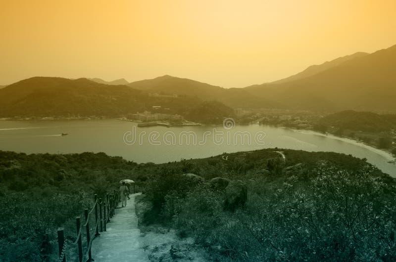 Isola di Lantau immagini stock