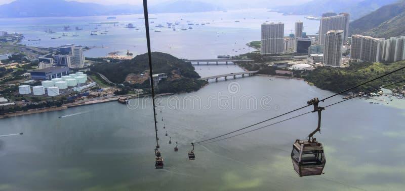 Isola di Lantau Hong Kong fotografia stock libera da diritti