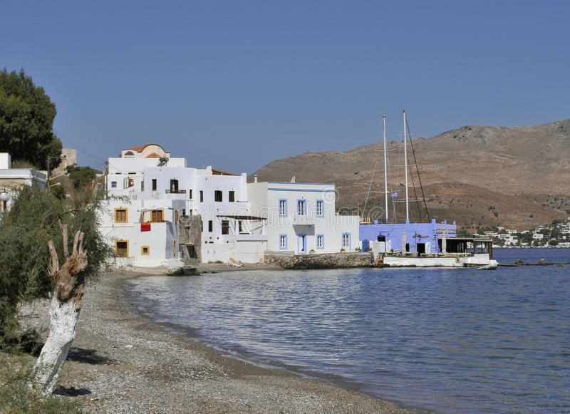 Isola di Leros, Grecia immagine stock libera da diritti