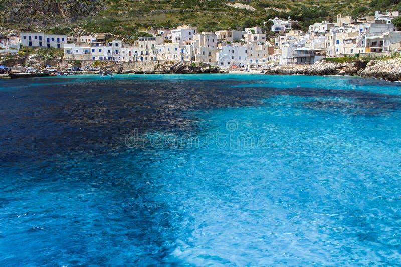 Isola di Levanzo imagen de archivo libre de regalías
