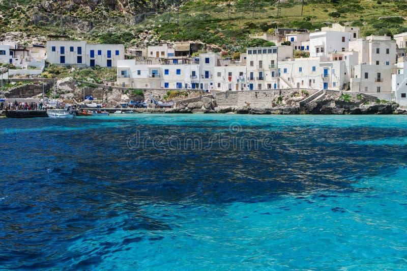Isola di Levanzo royalty free stock photos