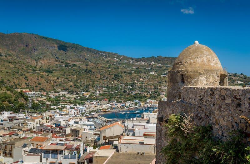 Isola di Lipari immagini stock libere da diritti