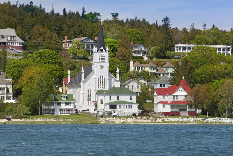 Isola di Mackinac fotografia stock libera da diritti