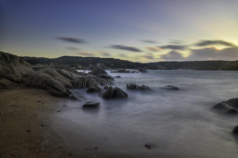 Isola di Maddalena del mare fotografia stock libera da diritti
