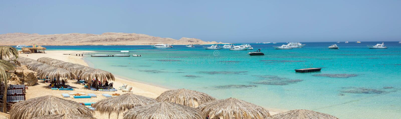 Isola di Mahmya, Egitto immagine stock libera da diritti