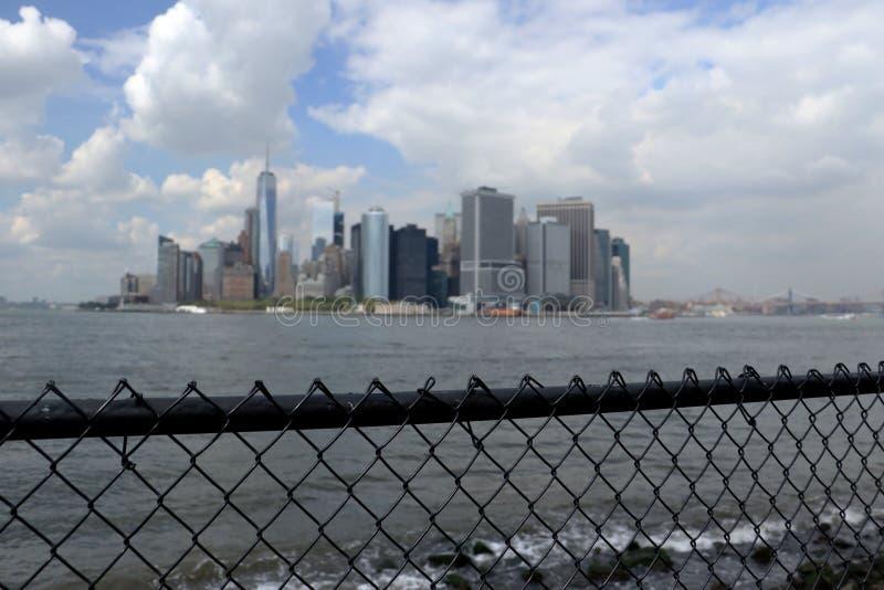 Isola di Manhattan immagini stock libere da diritti