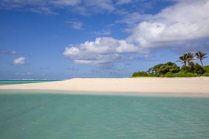 Isola di mare del sud fotografie stock libere da diritti