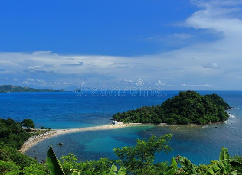 Isola di Mengkudu fotografia stock libera da diritti