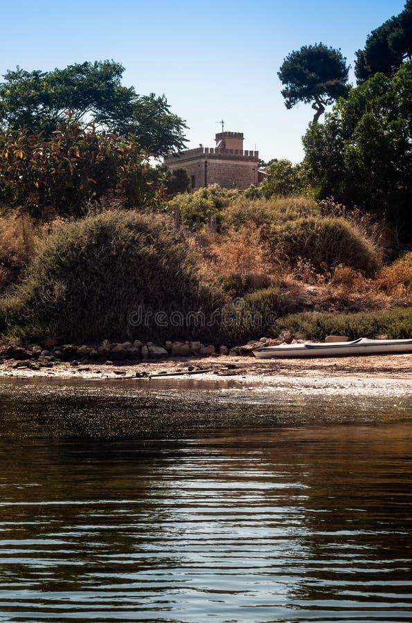 Isola di Mozia, Marsala fotografie stock