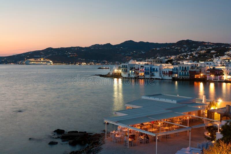 Isola di Mykonos - della Grecia immagini stock libere da diritti