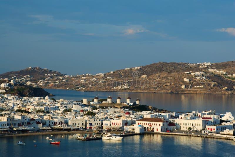 Isola di Mykonos - della Grecia fotografie stock libere da diritti