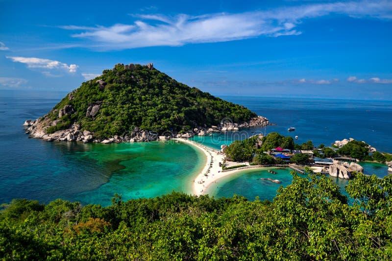 Isola di Nang Yuan immagini stock libere da diritti