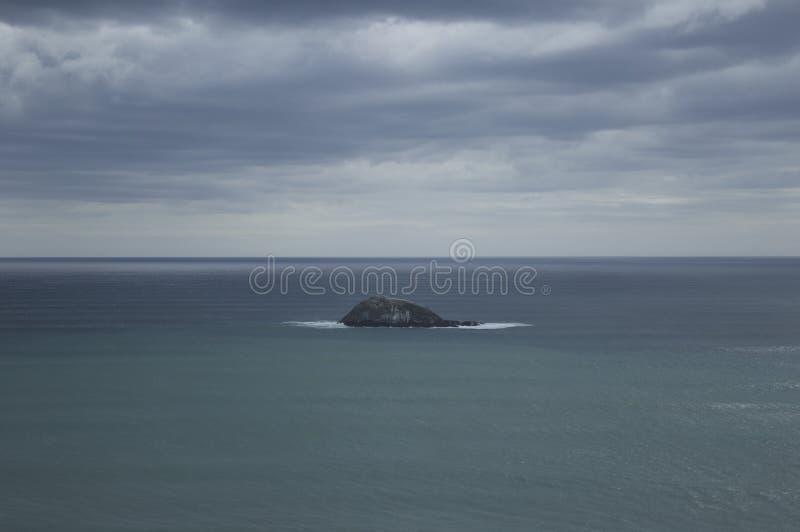 Isola di Oaia, Nuova Zelanda fotografia stock
