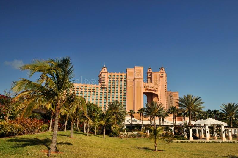Isola di paradiso del Atlantis Bahamas immagine stock