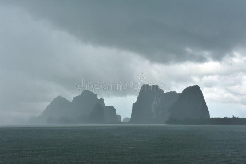 Isola di Phi-Phi fotografia stock