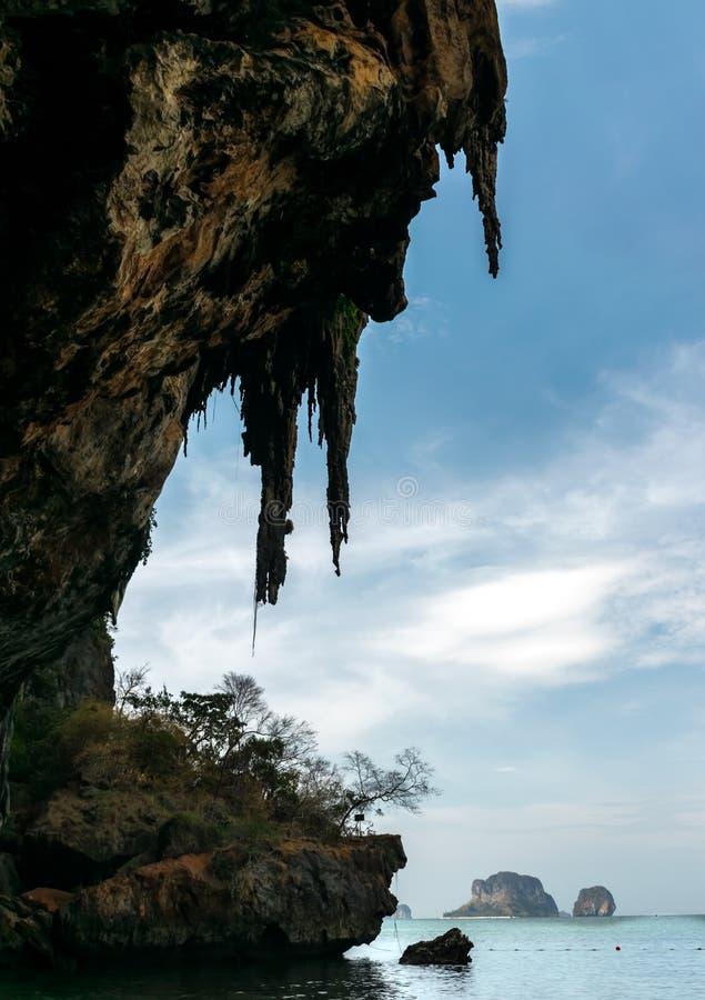 Isola di Phiphi, Krabi Tailandia fotografia stock