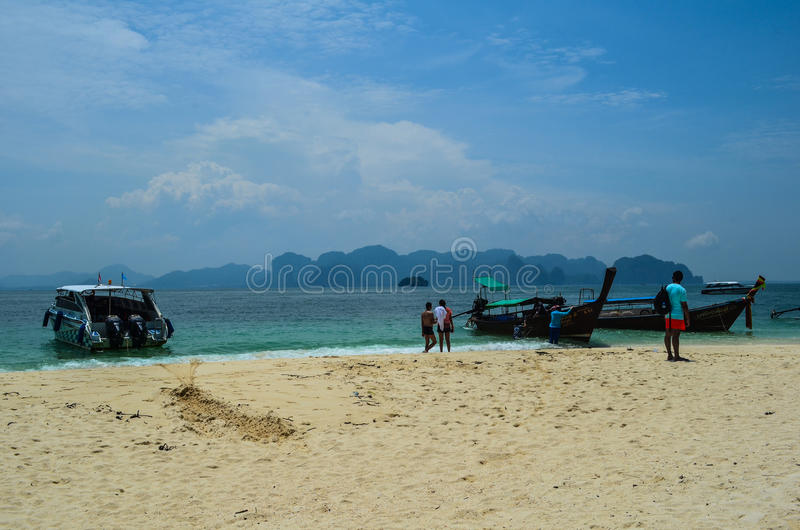 Isola di Poda, Krabi, Tailandia immagine stock libera da diritti
