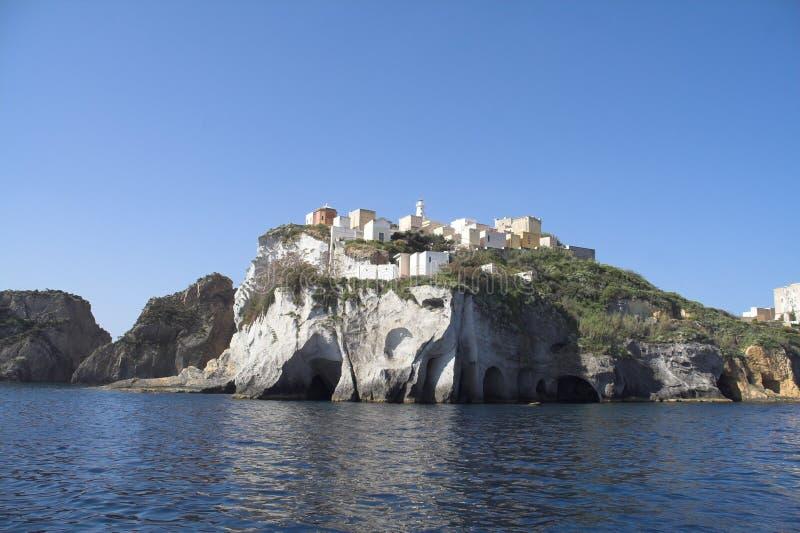 Isola di Ponza royalty free stock photo