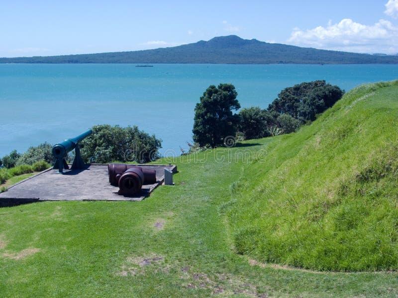 Isola di Rangitoto fotografia stock
