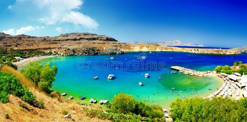 Isola di Rodi, Grecia fotografie stock libere da diritti
