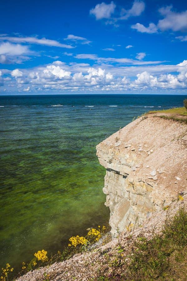 Isola di Saaremaa, Estonia fotografia stock libera da diritti