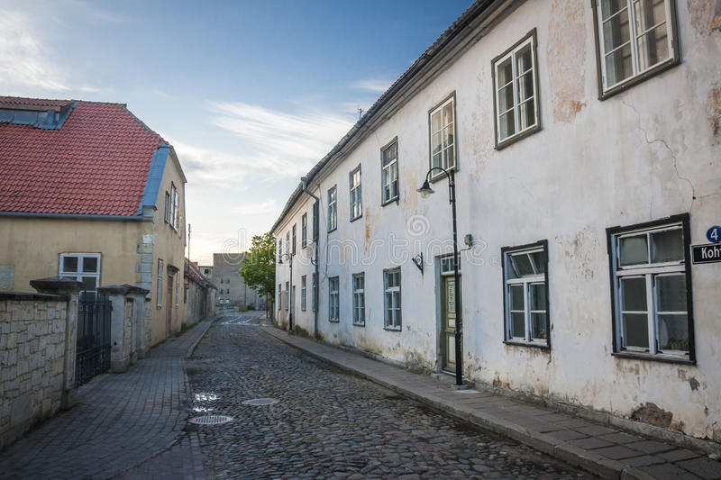 Isola di Saaremaa, Estonia fotografia stock