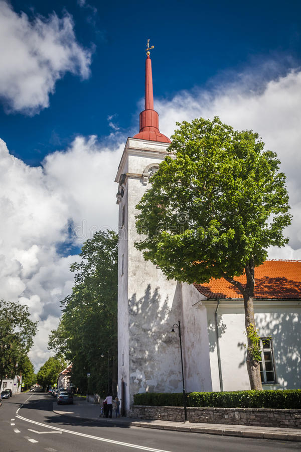 Isola di Saaremaa, Estonia immagine stock libera da diritti
