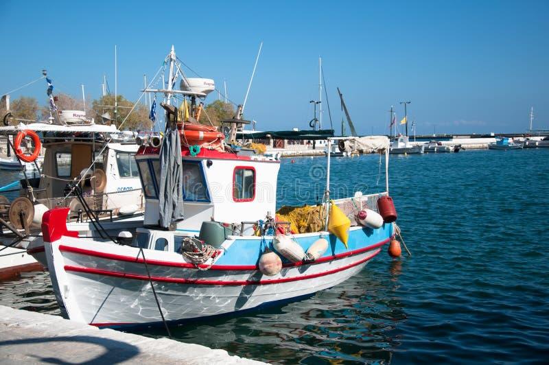 Isola di Samos, Grecia 4 giugno 2019: Pythagorio, lungonmare fotografie stock