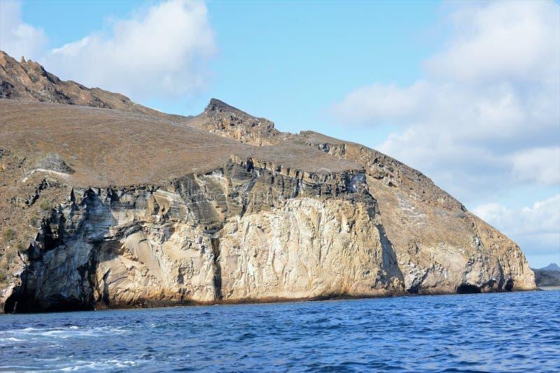 Isola di San Cristobal nell'arcipelago di Galapagos immagine stock