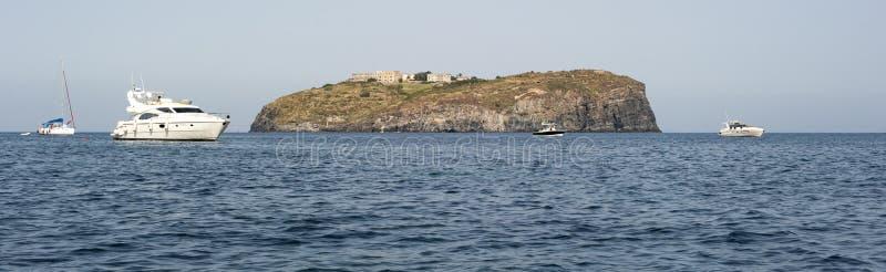 Isola di Santo Stefano fotografie stock