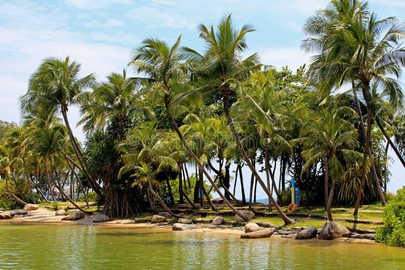 Isola di Sentosa immagini stock libere da diritti