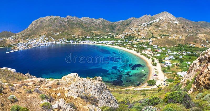 Isola di Serifo, Cicladi immagine stock libera da diritti