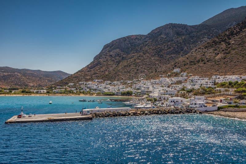 Isola di Sifnos, Grecia fotografia stock