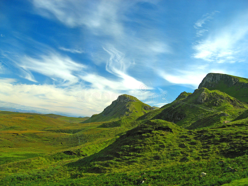 Isola di Skye 12 fotografia stock