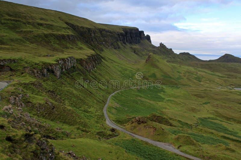 Isola di Skye fotografie stock libere da diritti