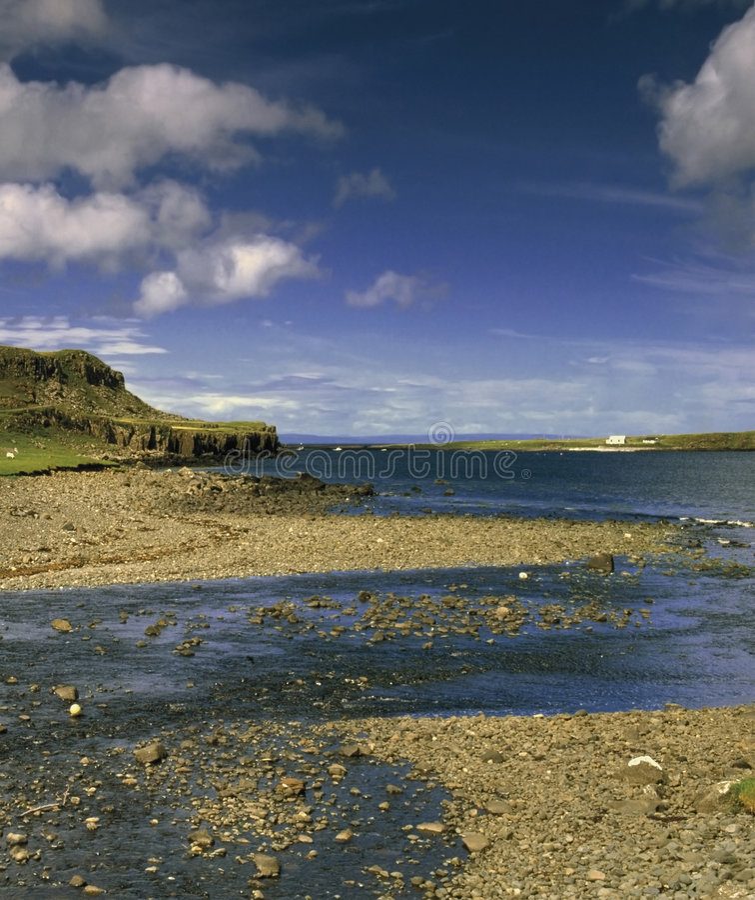 Isola di skye fotografia stock
