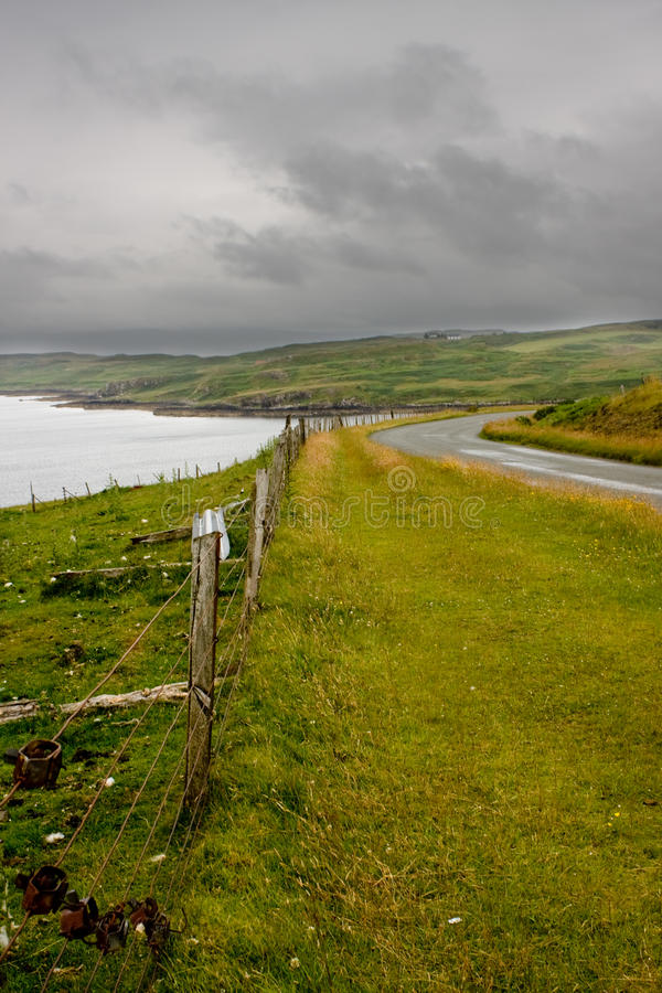 Isola di Skye, Scozia immagine stock libera da diritti