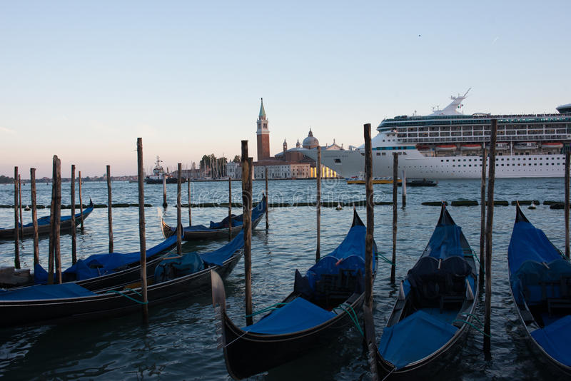 Isola di St George Venezia Veneto Italia Europa fotografie stock libere da diritti