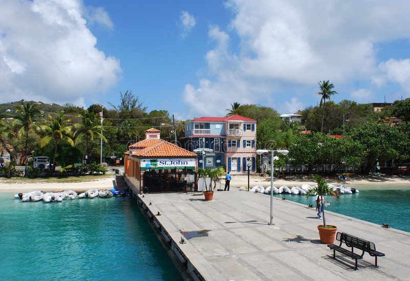 Isola di St.John immagine stock libera da diritti
