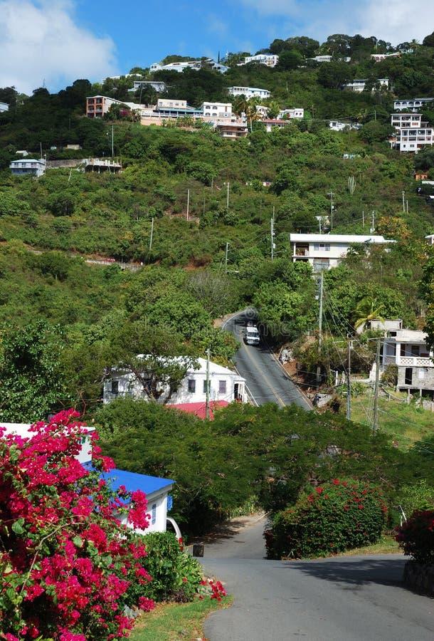 Isola di St.Thomas immagini stock