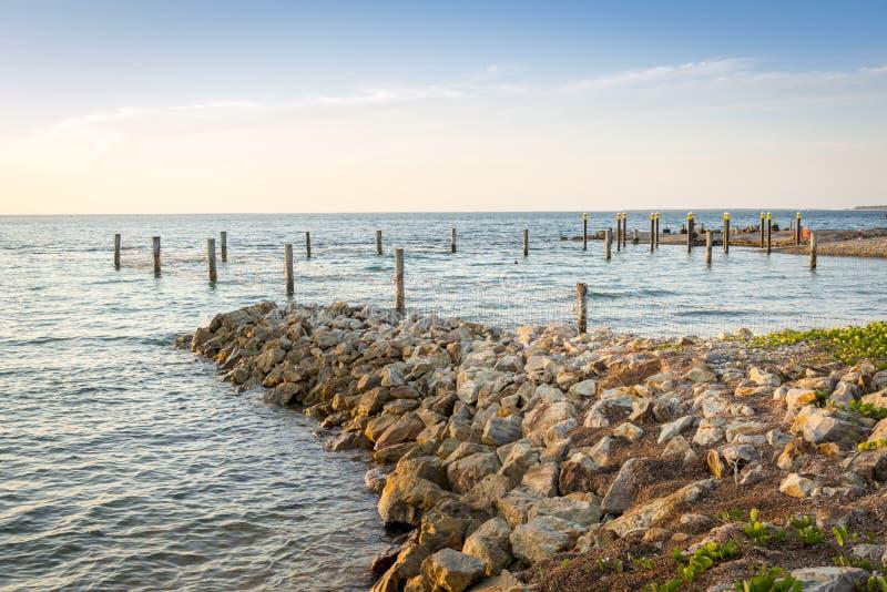 Isola di Stradbroke del punto di amicizia immagini stock libere da diritti