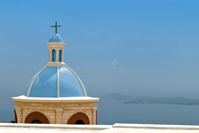 Isola di Syros in Grecia immagine stock libera da diritti