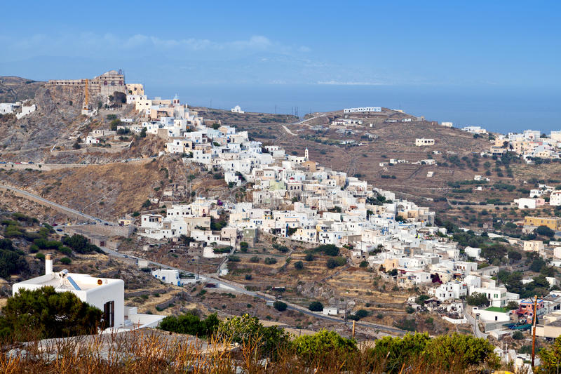 Isola di Syros in Grecia immagine stock