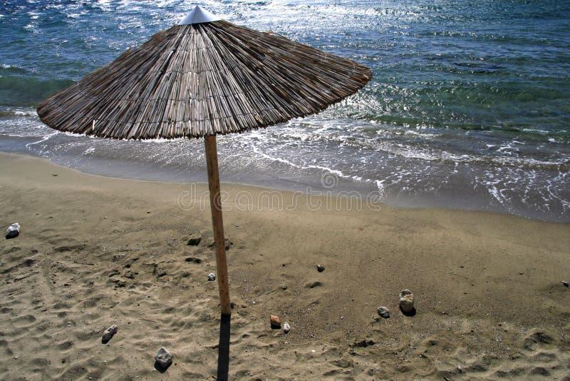 Isola di Syros, Grecia, spiaggia fotografie stock libere da diritti